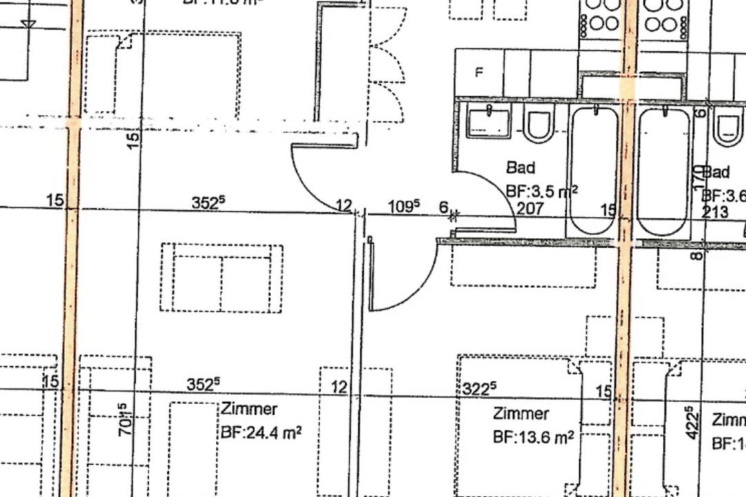 Objekt-Slide-Bild - Riesiges Zimmer 24m2 mit Balkon in Rorschacherberg